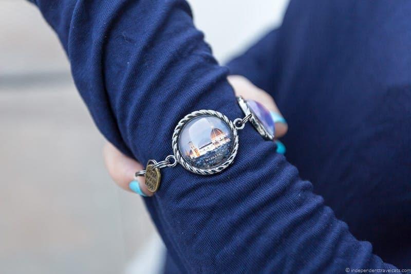custom photo bracelet travel jewelry traveling inspried jewellery