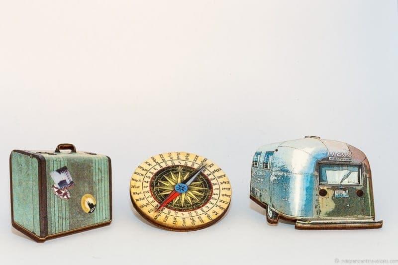 airstream caravan brooch travel jewelry traveling inspried jewellery