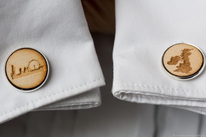 London UK cufflinks handmade travel jewelry traveling inspried jewellery
