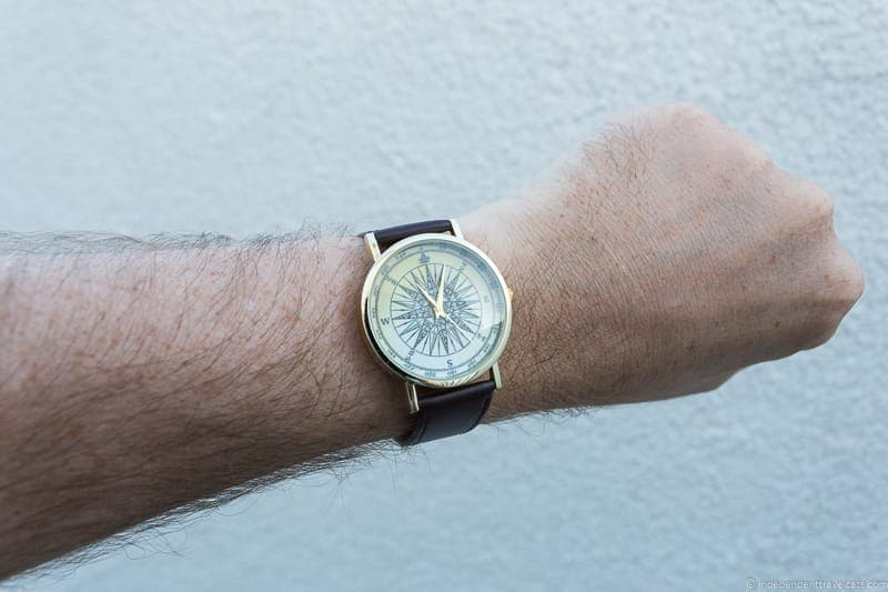 compass watch travel jewelry traveling inspried jewellery