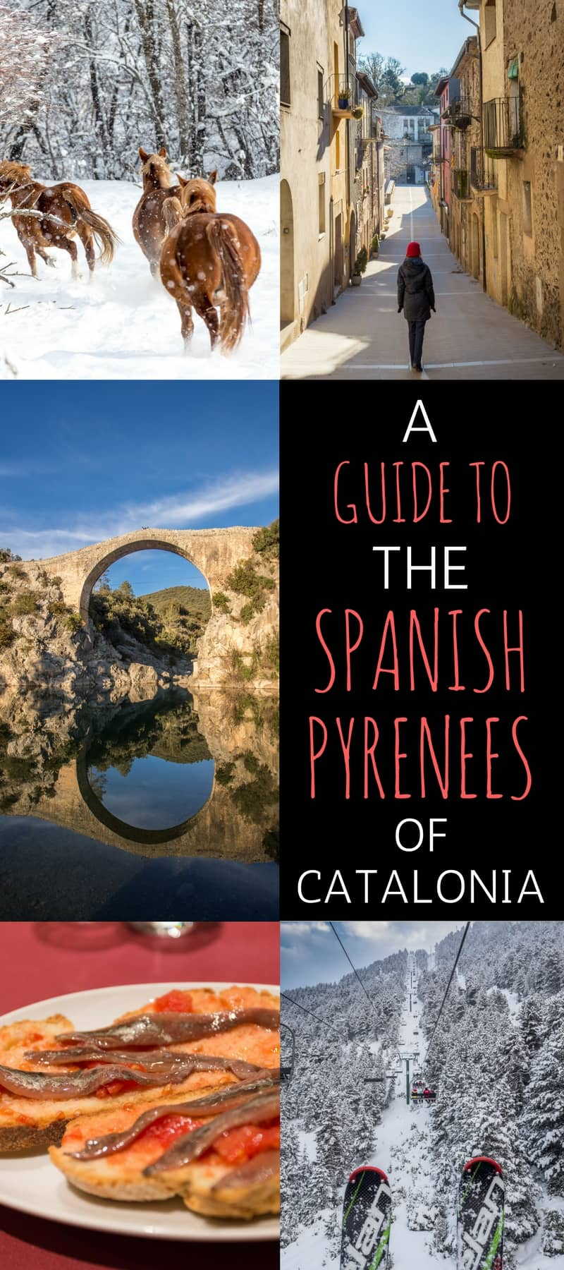 A comprehensive guide of where to go, what to eat, and things to do in the Spanish Pyrenees of Catalona, a lesser known region of Spain:
