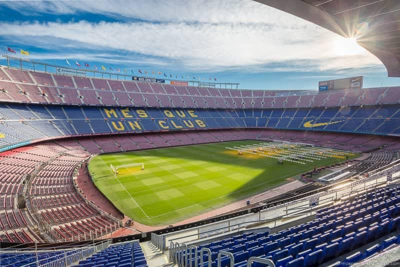FC Barcelona Stadium tour buying The Barcelona Pass tips advice worth it