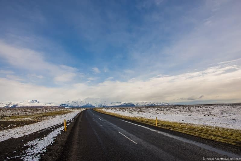 road 7 day Iceland itinerary by car one week road trip
