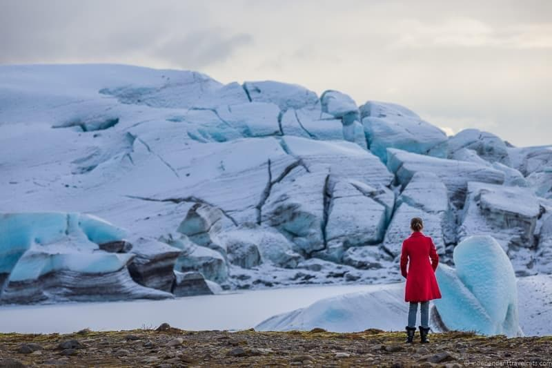Svínafellsjökull glacier 7 day Iceland itinerary by car one week road trip