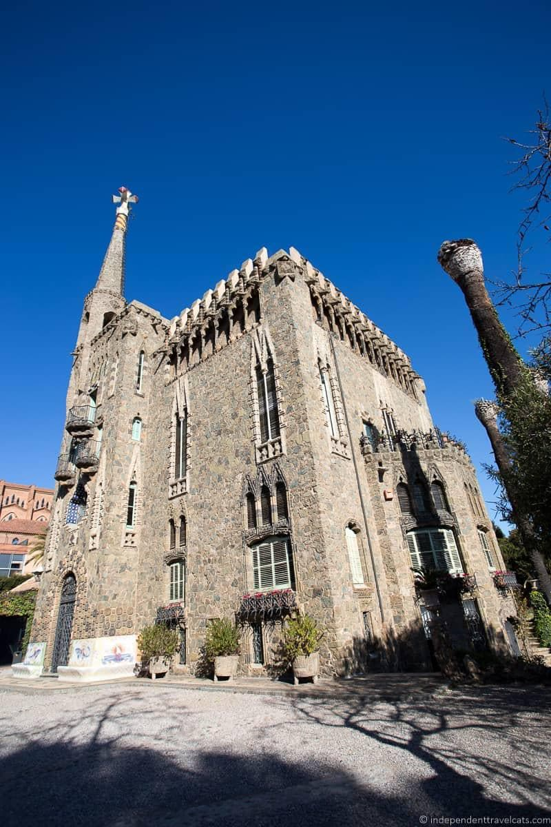Torre Bellesguard guide to Gaudí sites in Barcelona Spain