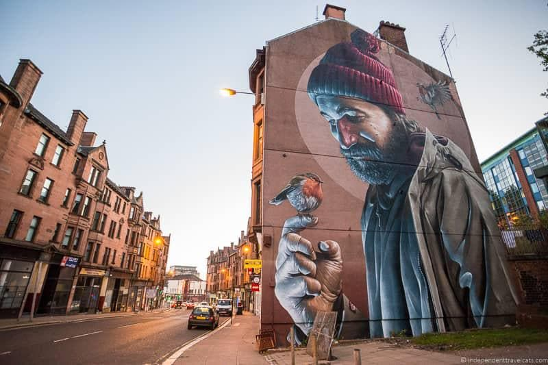 street art murals top things to do in Glasgow Scotland attractions