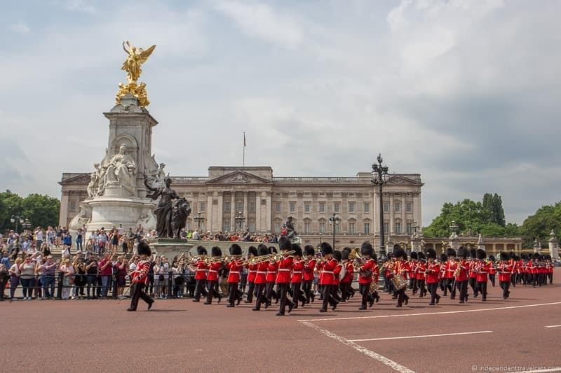 Buckingham Palace 6 days in London itinerary
