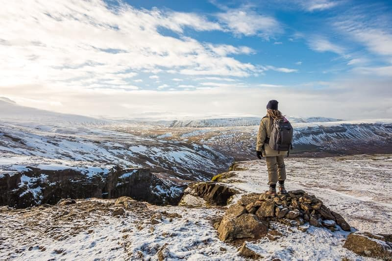 winter hiking Iceland in winter activities day trips tours
