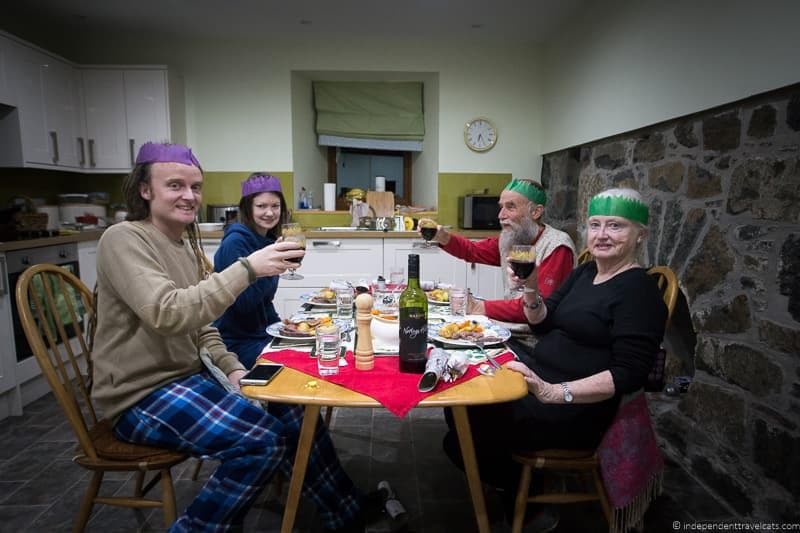 Christmas in Edinburgh Scotland December