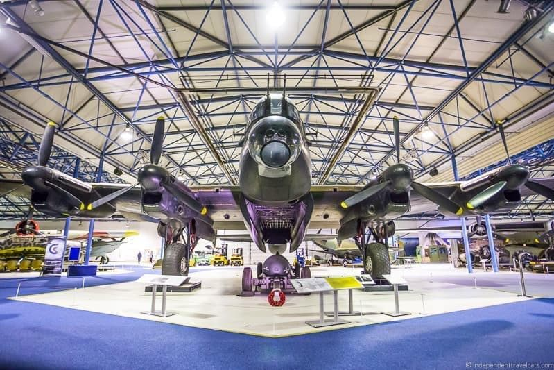 Royal Air Force Museum Winston Churchill in London sites attractions England UK