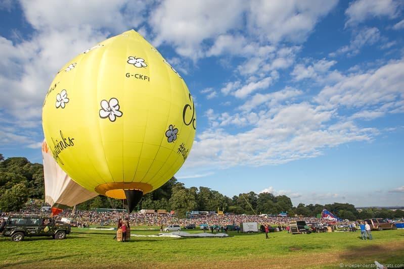 balloons Bristol International Balloon Fiesta England UK