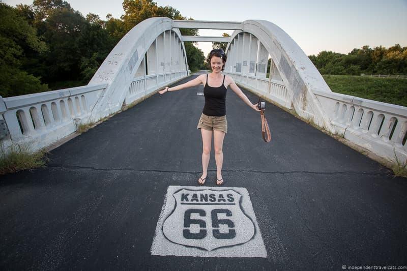 Rainbow Bridge Kansas 2 week Route 66 itinerary detailed guide