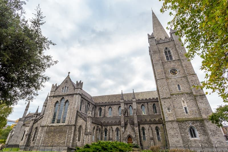 St. Patrick's Cathedral 3 days in Dublin itinerary Ireland