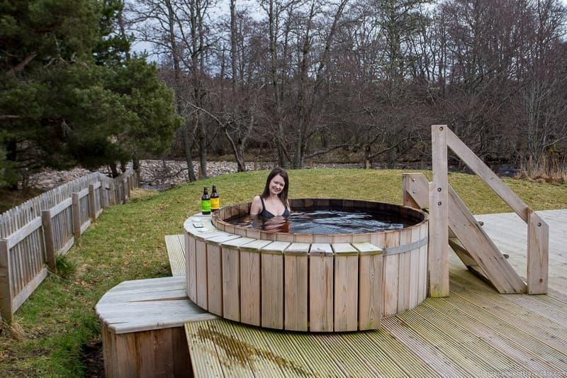 hot tub things to do in the Cairngorms National Park in winter