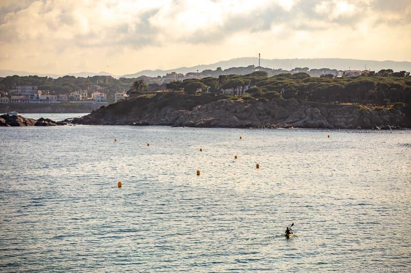 kayaking things to do in Palamós Spain Catalonia Costa Brava