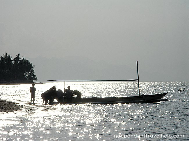 boat, sea, lovina, bali