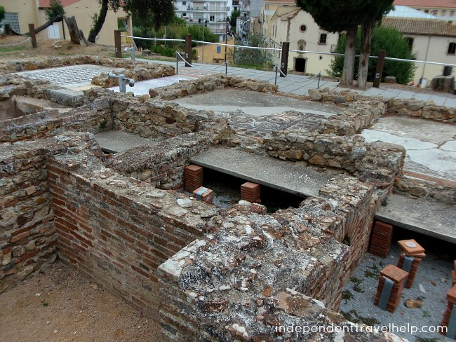 roman, tossa de mar, ruins, archeological, beaches