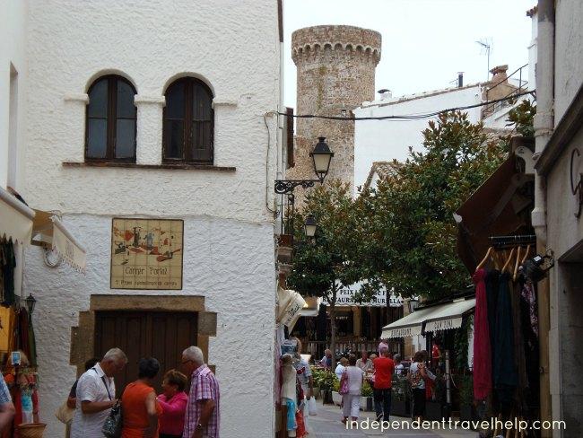 tossa de mar, walled medieval town, beaches