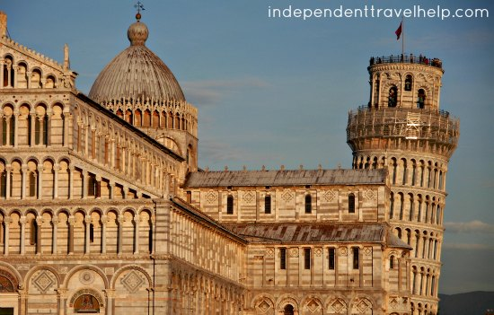 Piazza, Pisa, Italy, the Leaning Tower,