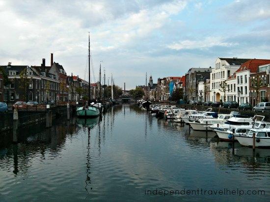 Delfshaven view