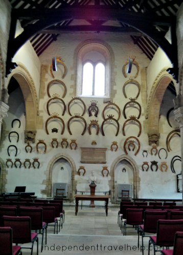 The Great Hall of Oakham Castle