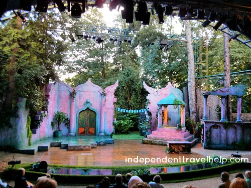 Shakespeare's plays at the Rutland open air theatre