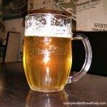 My first beer in Plzen