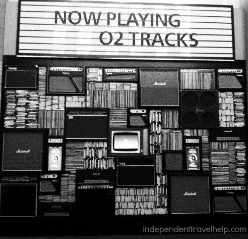 O2 tracks O2 Arena