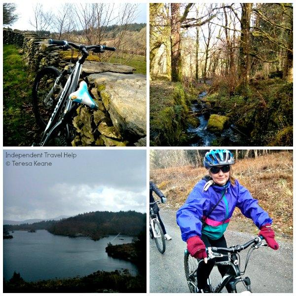 Mountain biking in Betws