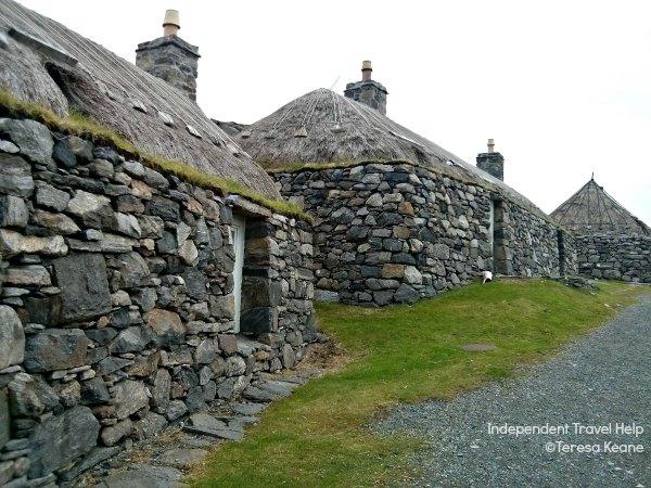 Gearrannan Blackhouses