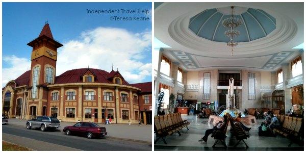 Uzhgorod Train Station