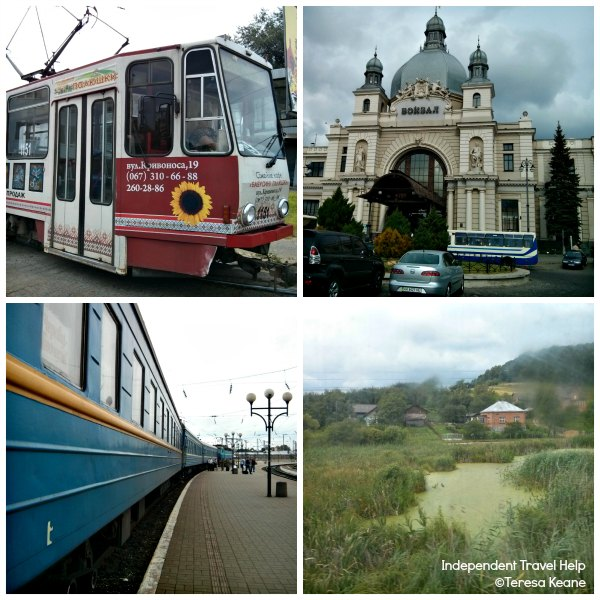 Journey from Lviv to Ivano Frank