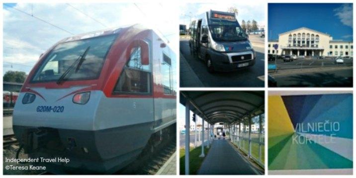 Transport to Vilnius airport