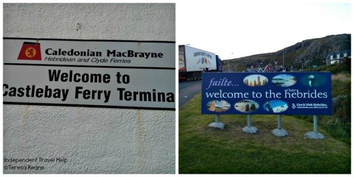 Arrival in Castlebay