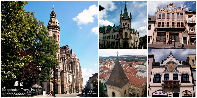Architecture in Kosice