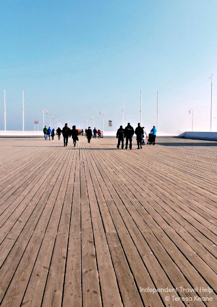 The Longest Wooden Pier in Europe
