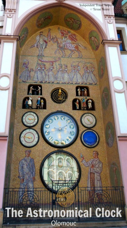 The Astronomical Clock in Olomouc