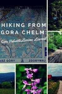 Hiking from Gora Chelm