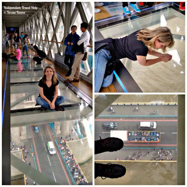 Tower Bridge Glass Floor Walkways