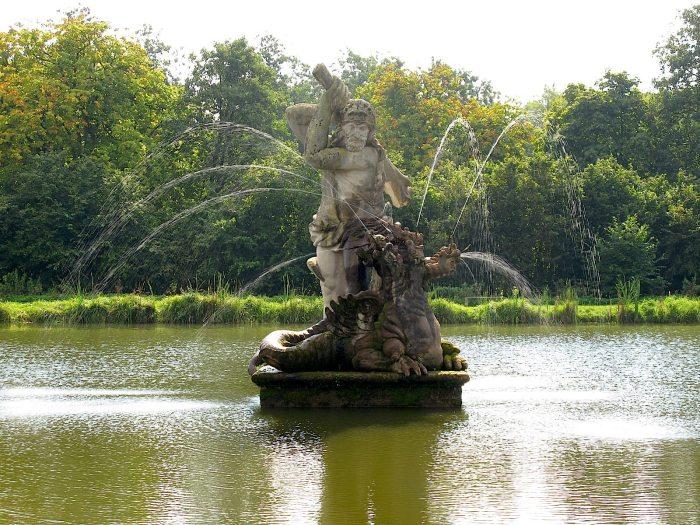 Herkules Teich Schloss Gottorf