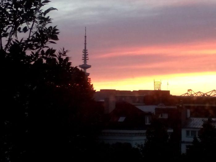 Sonnenaufgang St. Pauli
