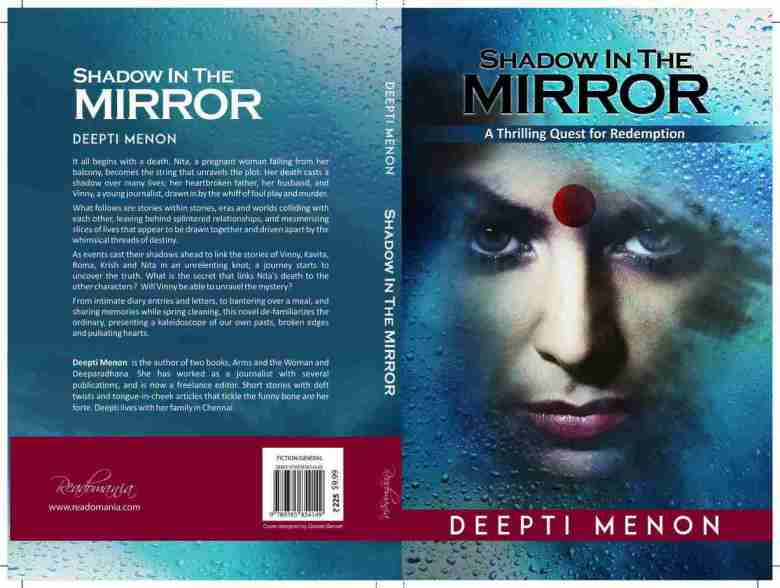 Book cover - Shadow In The Mirror