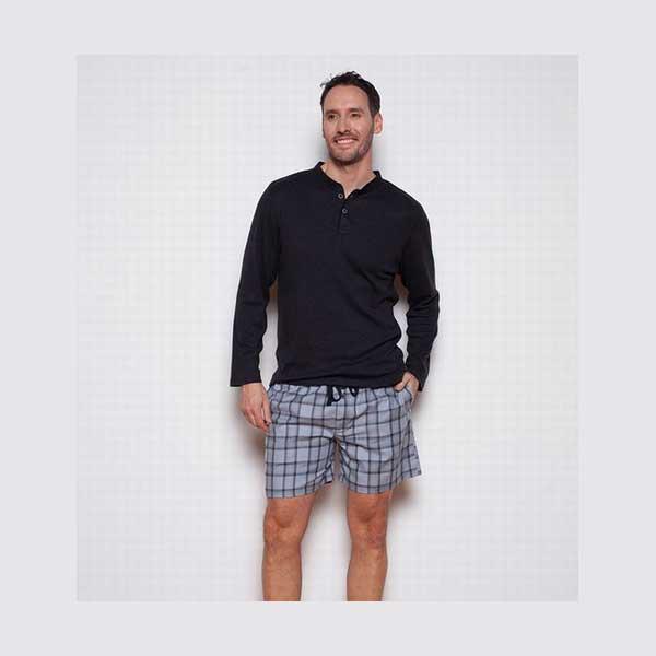 CyberJammies Herre Pyjamas 6125/6122 T-shirt og Shorts