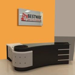 Signboard Receptionist - 9