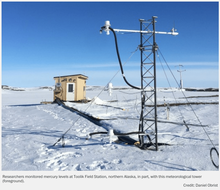 Source of Arctic Mercury Pollution Identified in New Study