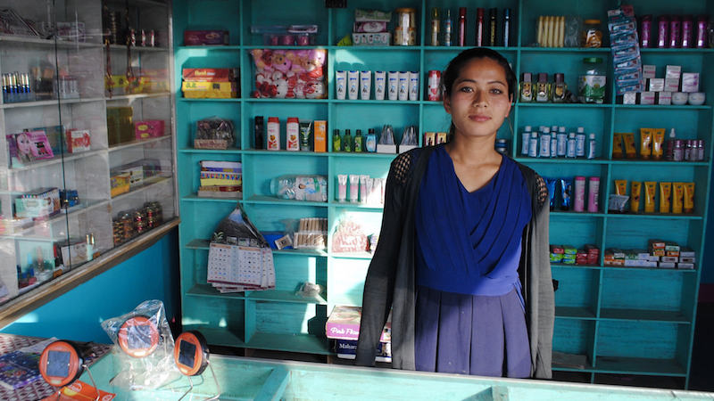 'Bad-ass business women' bring solar empowerment to Nepal