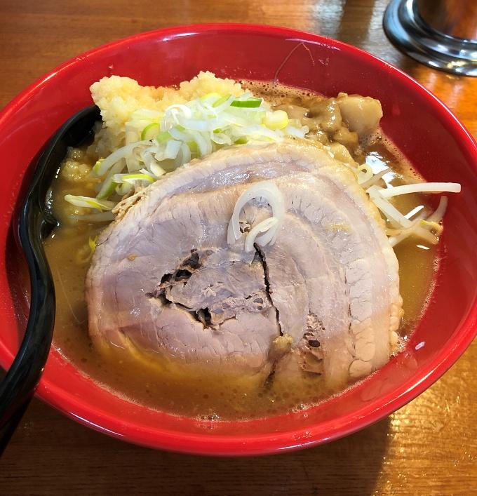 もりの_豚骨ガッツリ醤油_ラーメン(豚1枚200g)