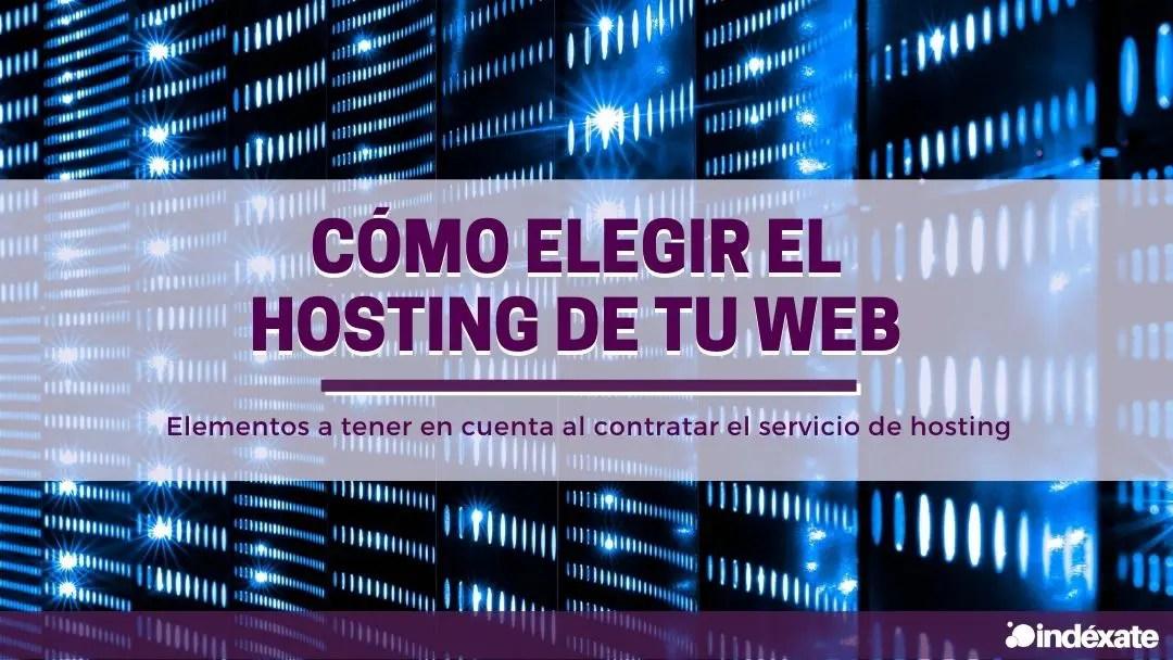 como elegir hosting web