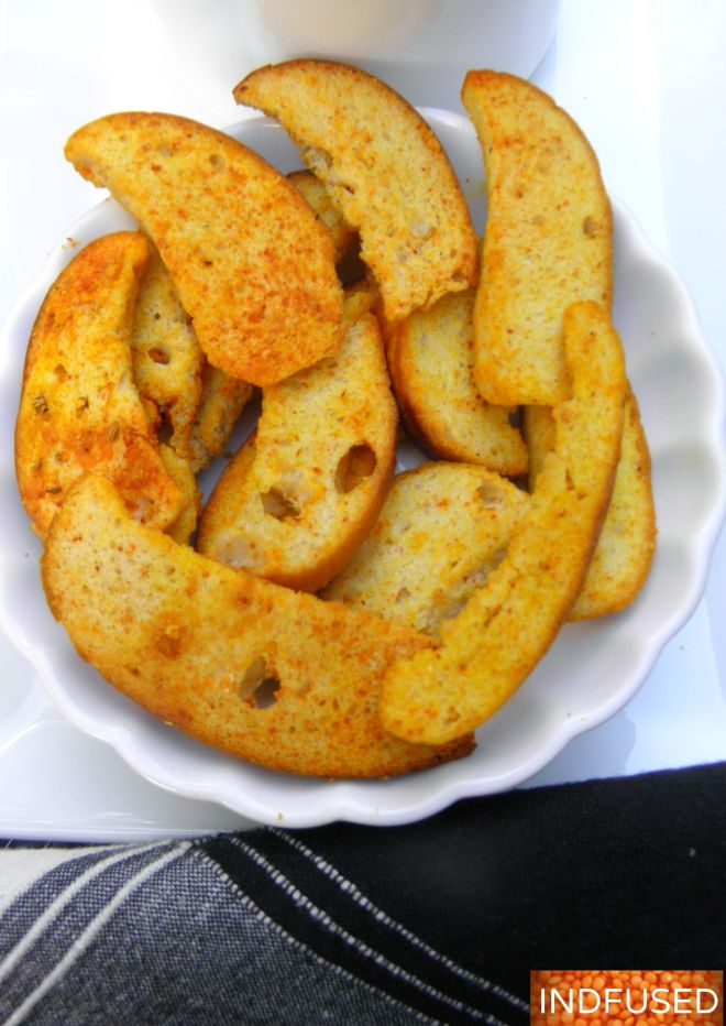 Zesty Bagel Chips that are oooh so addictive!
