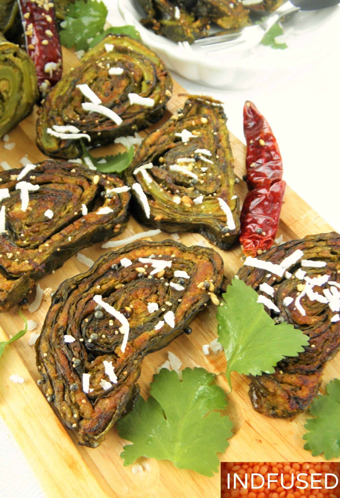 Indian #cuisine#collard #green #savory #roll with #Indian #spices #nutritious, #protein rich, #vegetarian,#lowfat, #glutenfree